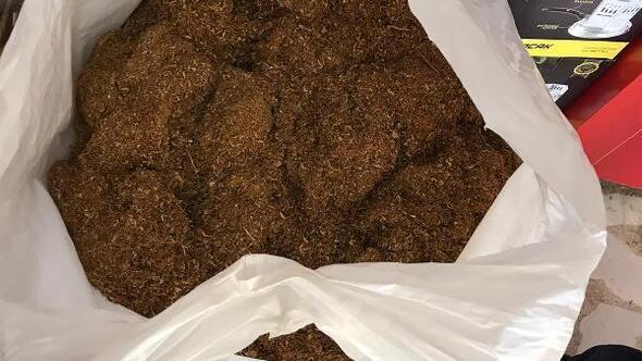 Tekirdağda 55 kilo kaçak tütün ele geçirildi