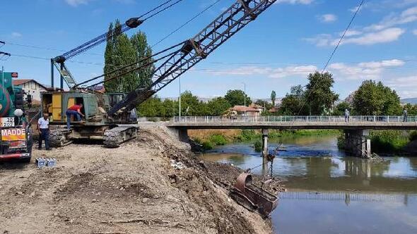 Kanal Turhal Projesinin ilk etabı başladı