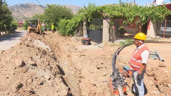 Karahan Mahallesi kanalizasyon sistemine kavuştu