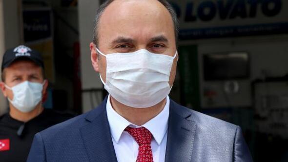 Edirne Valisi Canalpten esnafa SMSli pandemi mesajı