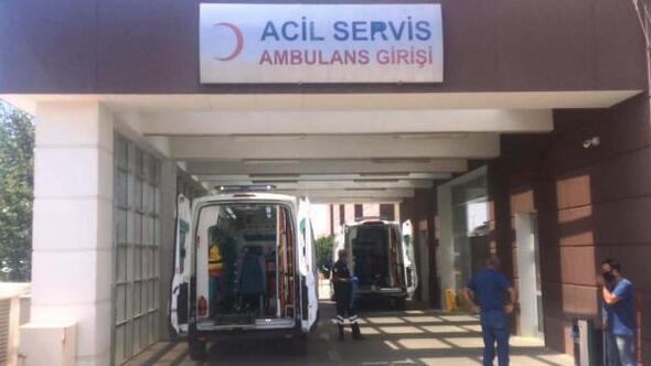 Adıyaman'da devrilen motosiklet sürücüsü yaralandı