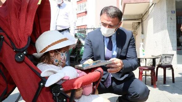 Vali Balcı, koronaviürs denetimi yaptı