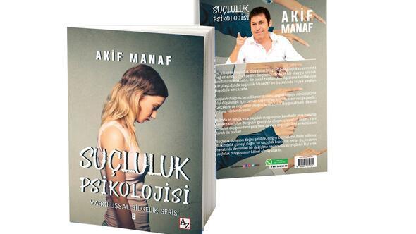 "Manaf'tan yeni kitap ""Suçluluk psikolojisi"""