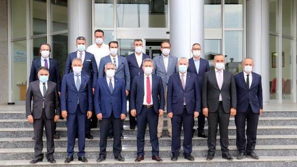 Vali Elban, ADASO yönetim kurulu üyeleriyle bir araya geldi