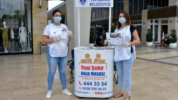 Yenişehir Belediyesi aileleri uzaktan eğitime hazırlıyor