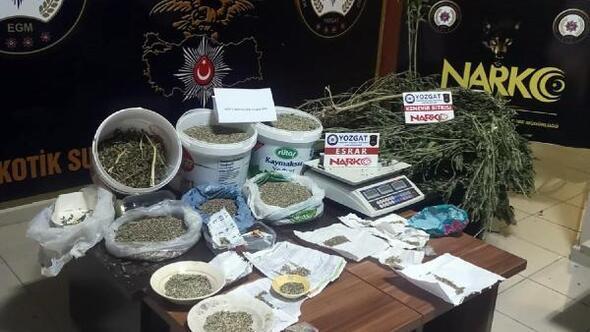 Yozgatta uyuşturucu operasyonu: 1 gözaltı