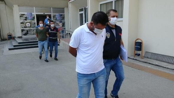 108 bin liralık tütün makaronu dolandırıcıları yakalandı