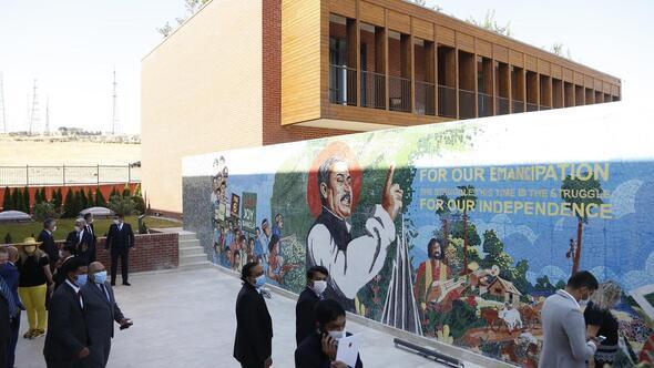 Yeni elçilik binası video konferansla açıldı