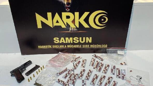Samsunda narkotik denetimleri: 2 gözaltı