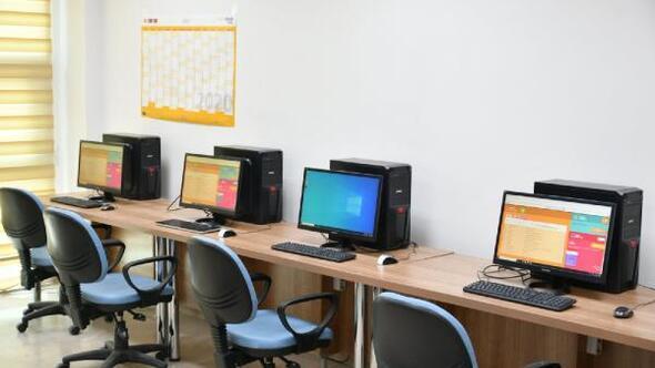 Tokat Gençlik Merkezinde EBA sınıfı oluşturuldu