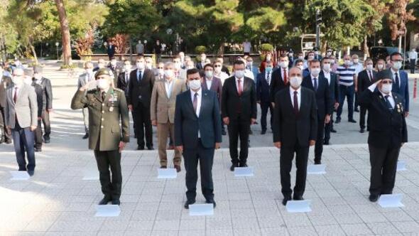 Burdurda Gaziler Günü kutlaması