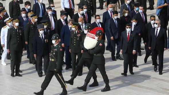 Gaziler Günü'nde Anıtkabir ziyareti