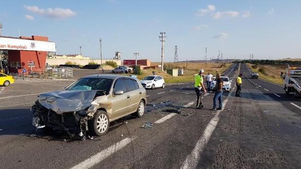 Tekirdağda trafik kazası: 2 yaralı