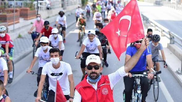 Osmaniyede bisiklet turu etkinliği