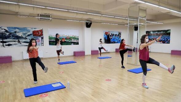 Denizlide Büyükşehirin spor kurslarından 245 bin kişi faydalandı