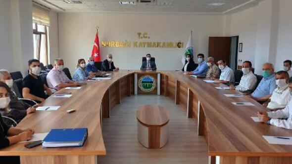 Nurdağı'nda 'kadına yönelik şiddetle mücadele 'toplantısı