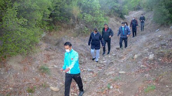 Vali Aktaş, Arıburnu Yürüyüş Güzergahı'nda incelemelerde bulundu