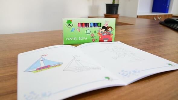 Minikler için boyama kitabı