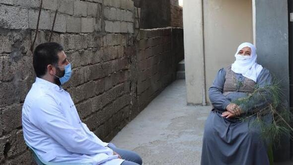 Midyatta yaşlılar, koronavirüse karşı bilgilendirildi