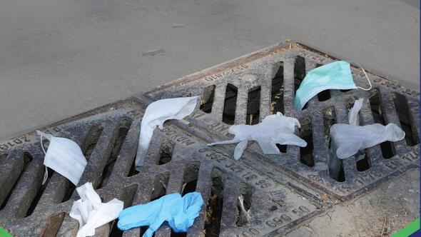 Maskeyi tuvalete mazgala atmayın