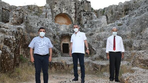 Vali Çuhadar: Perre Antik Kentin altında ciddi bir kültür varlığı var