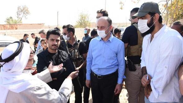 Şanlıurfa Valisi Erin, Suriyelilerin sorunlarını dinledi