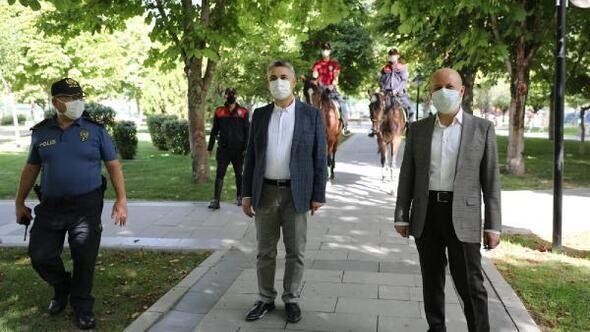 Başkan Çolakbayrakdardan maske denetimi