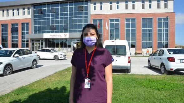 Hastaları dışarıdaki insanlarla temas ettirmemeye çalışıyoruz