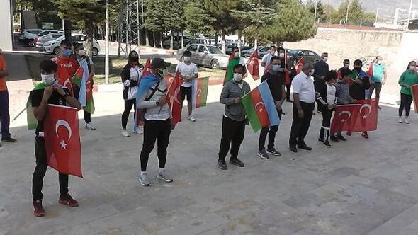 Tokat Gençlik Merkezinden Azerbaycana destek