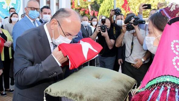 Atatürkün Manisaya gelişinin 95. yıldönümü kutlandı