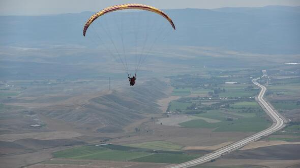 Avdan Yaylası'na yamaç paraşütü pisti