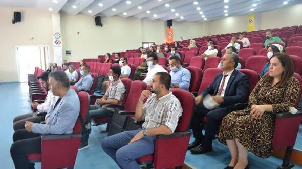 Silopi'de öğrencilere Covid-19 bilgilendirme toplantısı
