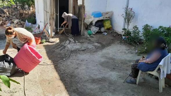 Enezde ihtiyaç sahiplerine evde bakım ve temizlik hizmeti
