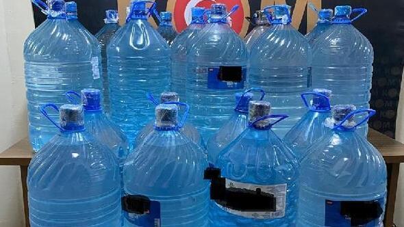 Malatyada 447 litre sahte içki ele geçirildi
