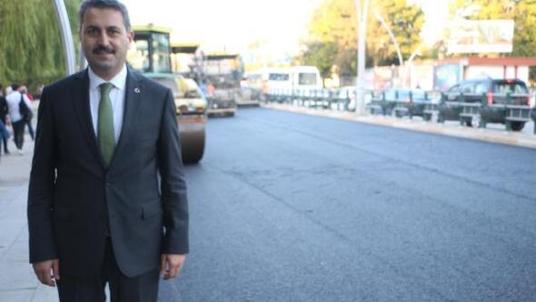 GOP Bulvarı 24 yıl sonra yeniden asfaltlanıyor