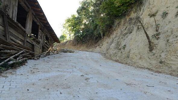 8 asırlık mahallede yollar parke taşıyla kaplanıyor