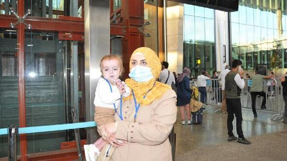 Iraktan 7 ay sonra tedavi için İstanbula geldiler