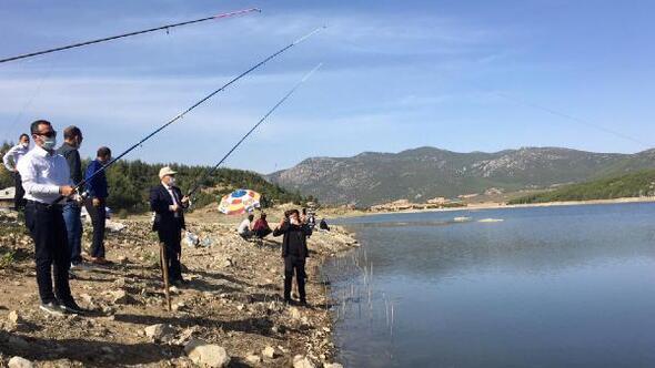 Bucakta Olta Balıkçılığı Yarışması yapıldı