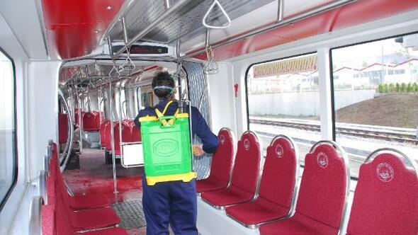 Başkan Büyükkılıç: Şehir içi toplu ulaşım araçları 35 bin 721 kez dezenfekte edildi