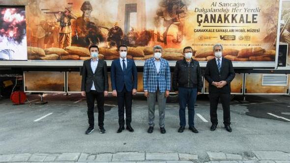 Çanakkale Savaşları Mobil Müzesi Vanda ziyaretçilere açıldı