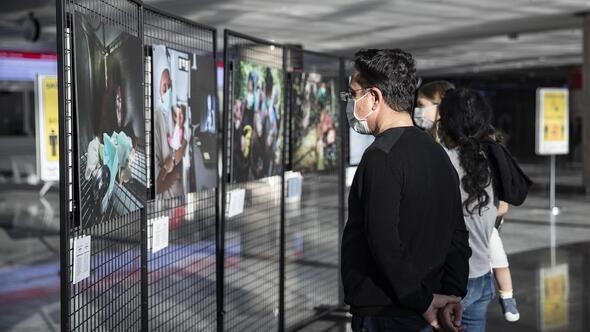 Ödüllü fotoğraflar ilk kez Ankara'da