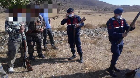 Yasa dışı avlanan 18 kişi yakalandı