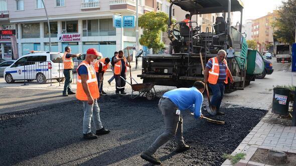 İlçeye 10 bin ton asfalt serilecek