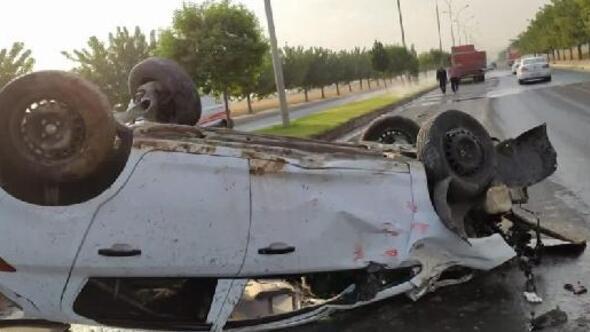 Şanlıurfa'da iki ayrı kazada 4 yaralı