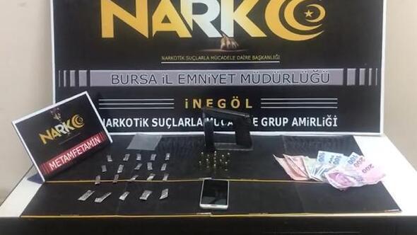 Bursada uyuşturucu operasyonu: 1 gözaltı