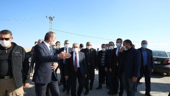 Başkan Büyükkılıç, Tomarza'daki çalışmaları inceledi