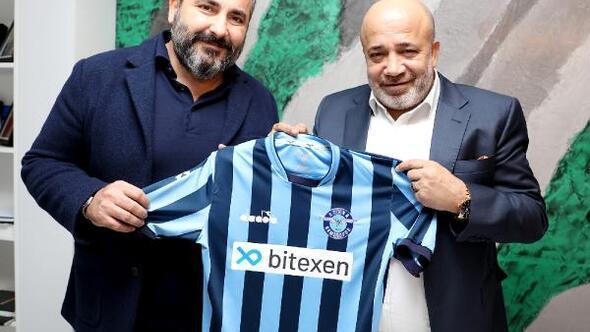 Adana Demirspor'un yeni sponsoru Bitexen teknoloji oldu