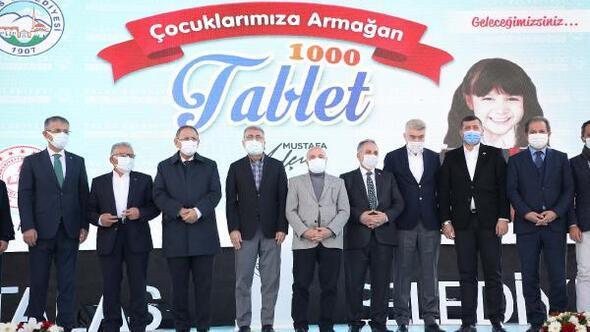 Talas Belediyesinden öğrencilere 1000 tablet