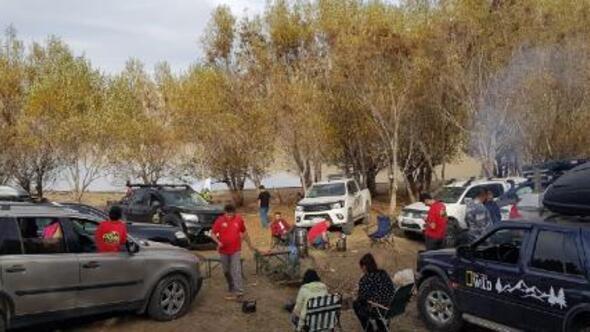 Erzurumda Offroad sezonu açıldı