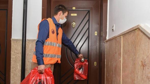 140 bin eve çöp poşeti